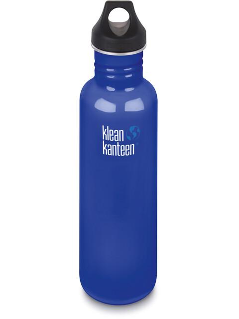 Klean Kanteen Classic Bottle Loop Cap 800ml Coastal Waters